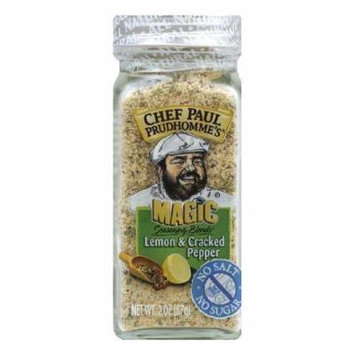 Magic Seasoning Blends Salt Free Sugar Free Cracked Pepper Seasoning, 2 OZ (Pack of 6)