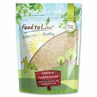 Food To Live ® Sesame Seeds (Hulled) (2 Pounds)