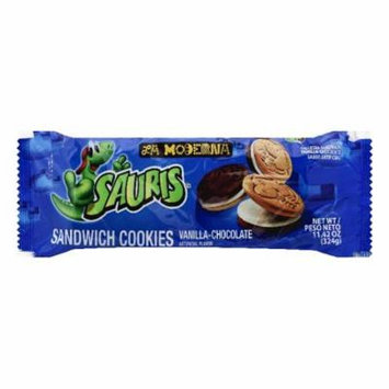 La Moderna Vanilla-Chocolate Sandwich Cookies, 11.42 OZ (Pack of 20)