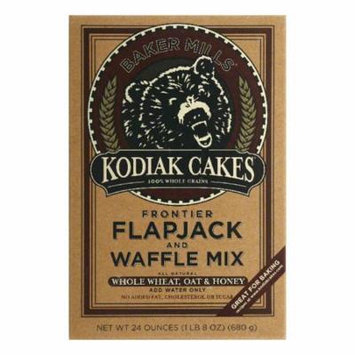 Kodiak Cakes Flapjack and Waffle Mix, 24 OZ (Pack of 6)