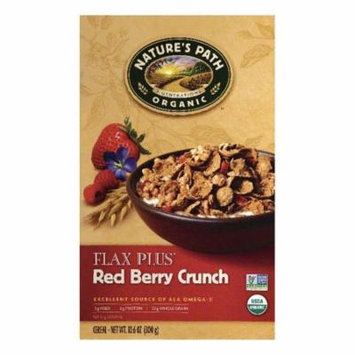 Natures Path Red Berry Crunch Flax Plus Cereal, 10.6 OZ (Pack of 12)