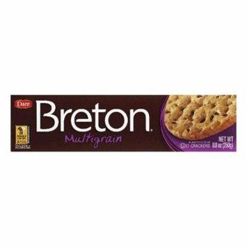 Dare Breton Crackers Multi-Grain, 8.8 OZ (Pack of 12)