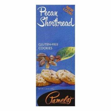 Pamela's products pecan shortbread cookies, 7.25 oz, (pack of 6)