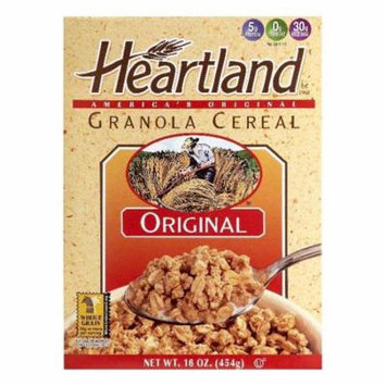 Heartland Original Granola Cereal, 14 OZ (Pack of 6)
