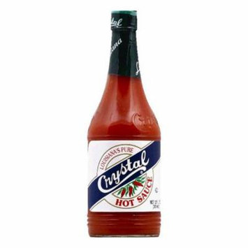 Crystal Louisiana's Pure Hot Sauce, 12 OZ (Pack of 12)