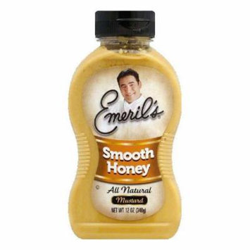 Emeril's Mustard Smooth Honey, 12 OZ (Pack of 6)