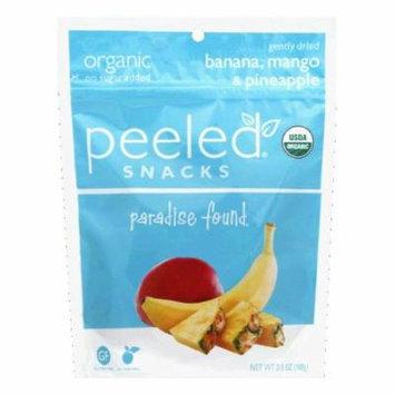 Peeled Gently Dried Mango & Pineapple Banana, 3.5 Oz (Pack of 12)
