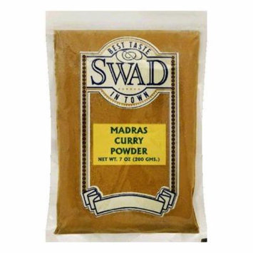 Swad Madras Curry Powder, 7 OZ (Pack of 20)