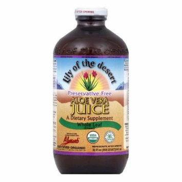 Lily Aloe Vera Juice, 32 OZ