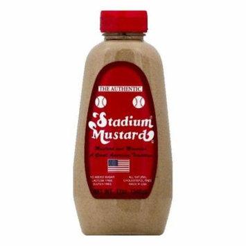 Stadium Mustard Mustard, 12 OZ (Pack of 12)