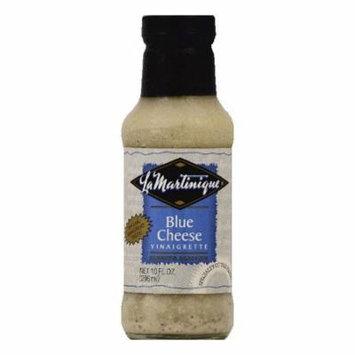 La Martinique Blue Cheese Vinaigrette Premium Dressing, 10 OZ (Pack of 6)