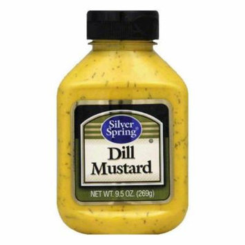 Silver Springs Mustard Dill, 9.5 OZ (Pack of 9)
