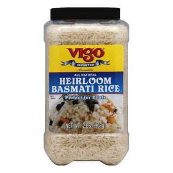 Vigo Heirloom Basmati Rice, 1 KG (Pack of 4)