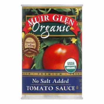 Muir Glen Tomato Sauce No Salt Added, 15 OZ (Pack of 12)