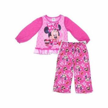 Disney Girls Minnie Mouse Cupcake Pajama Set