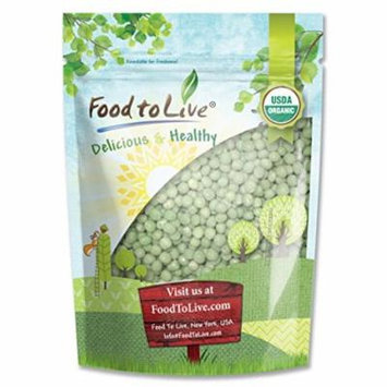 Food To Live ® Organic Green Peas (4 Pounds)