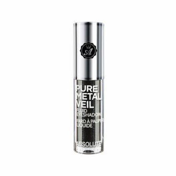 (6 Pack) ABSOLUTE Pure Metal Veil Fluid Eyeshadow Blackout