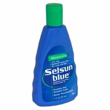 6 Pack - Selsun Blue Dandruff Shampoo Moisturizing 7 oz Each