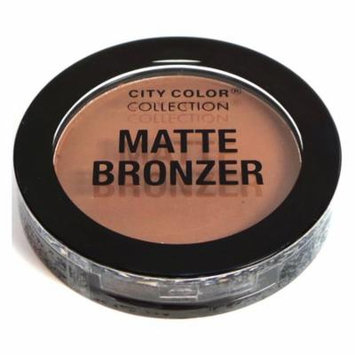 (3 Pack) CITY COLOR Matte Bronzer Caramel