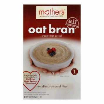 Mother's Hot Cereal Oatbran, 16 OZ (Pack of 6)