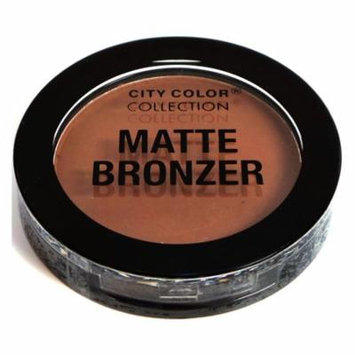 (6 Pack) CITY COLOR Matte Bronzer Espresso