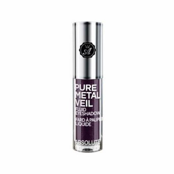(3 Pack) ABSOLUTE Pure Metal Veil Fluid Eyeshadow Posh Plum