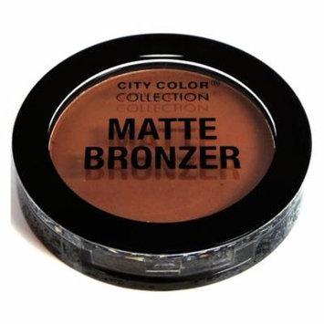 (3 Pack) CITY COLOR Matte Bronzer Copper