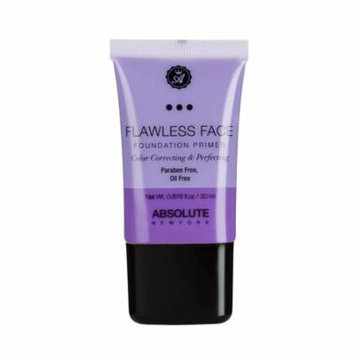 (6 Pack) ABSOLUTE Flawless Foundation Primer - Lavender