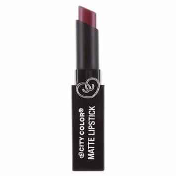 (3 Pack) CITY COLOR Matte Lipstick L0050D Cabernet