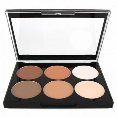 (6 Pack) CITY COLOR Contour Palette On The Go