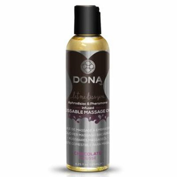 Dona Let Me Kiss You Massage Oil - Chocolate Mousse - 3.75 oz