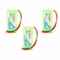 3x Pack - American Telecom AH05-NT0705 Battery - Replacement for American Telecom Cordless Phone Battery (700mAh, 2.4V, NI-MH)