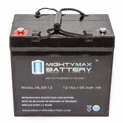 12V 55AH Internal Thread Battery for Gendron-Solo ALL MODELS
