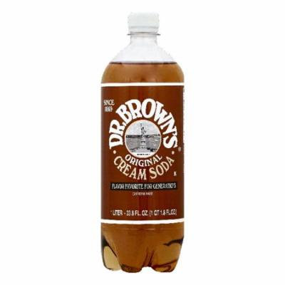 Dr Browns Original Cream Soda, 33.8 OZ (Pack of 12)