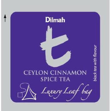 Dilmah , Cinnamon Spice Tea , Biodegradable Luxury Leaf Sachets , Food Service Pack , (100 Tea Bags)