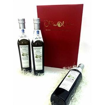 3 x 500 ml Castillo de Canena Family Reserve (Arbequina) - Extra Virgin Olive Oil By Oliva Oliva Internet SL