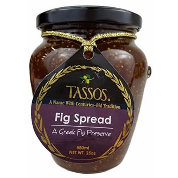 Tassos Traditional Greek Fig Preserve Spread (1 Jar)