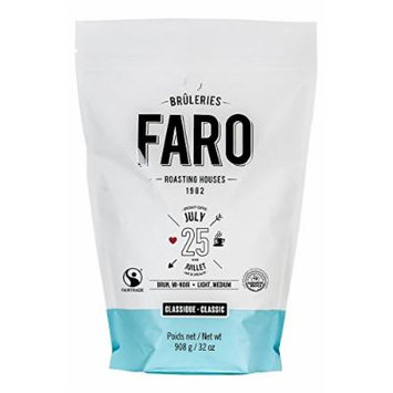 Faro Roasting Houses Whole Coffee Beans Blend, 2lb