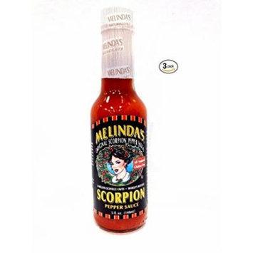 Melinda's Scorpion Pepper Sauce - (3 Pack of 5 Oz. Bottles)