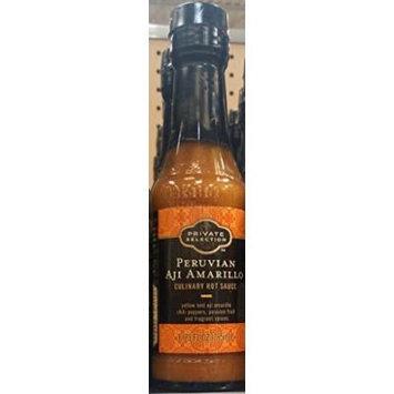 Private Selection Peruvian Aji Amarillo Culinary Hot Sauce 6.25 Oz (Pack of 3)