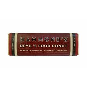 Hammonds Gourmet Chocolate Bar – Kosher – 6 Pack – 2.25 oz each (Devil's Food Donut Dark)