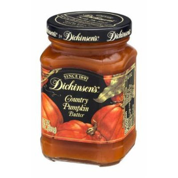 Dickinson's Country Pumpkin Butter -- 9 oz by Dickinson's