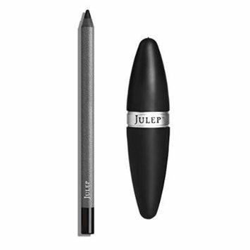 Julep Long-Lasting Waterproof Gel Eyeliner Pencil + Sharpener Set, Blackest Black