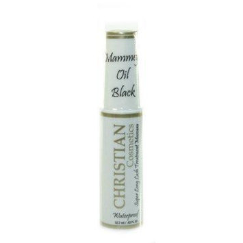 Christian Super Long Lash Mascara Waterproof Mammey Oil Black by Christian Cosmetics