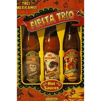 Tres Mexicanos Hot Sauce Collection 3 Pack