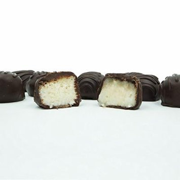 Philadelphia Candies Homemade Coconut Creams, Dark Chocolate 1 Pound Gift Box