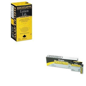 KITBTC10342EVEEN91 - Value Kit - Bigelow Lemon Lift Black Tea (BTC10342) and Energizer Industrial Alkaline Batteries (EVEEN91)