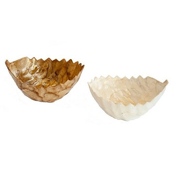 Dekorasyon Gifts & Decor Leaf Bowl