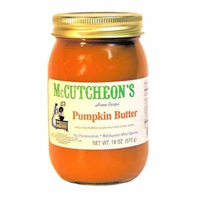 McCutcheons Apple Products Pumpkin Butter, 18 Ounce -- 12 per case.
