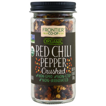 Frontier Natural Products, Organic Red Chili Pepper, Crushed, 1.05 oz (30 g)